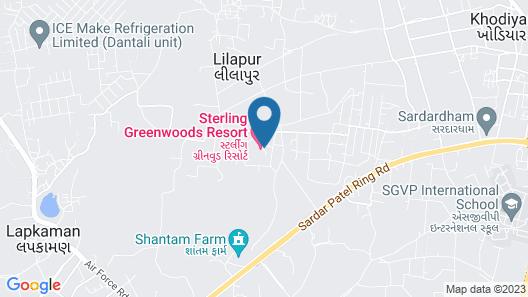 Greenwoods Lake Resort & Spa Map