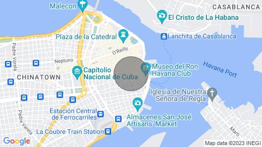 Casa Independiente en la Habana Vieja - Clobis603 Map