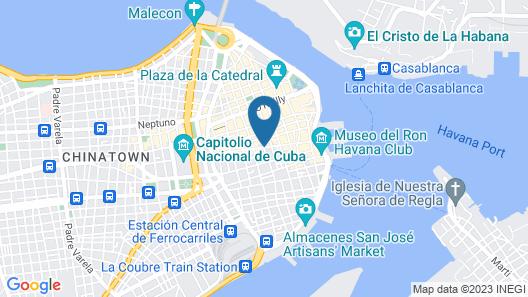Luxury 1 Bedroom Apt in the Heart of Old Havana Map