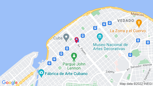 Paseo 206 Boutique Hotel Map