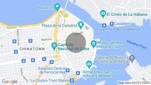 EL Portal - IN THE Heart OF OLD Havana Map