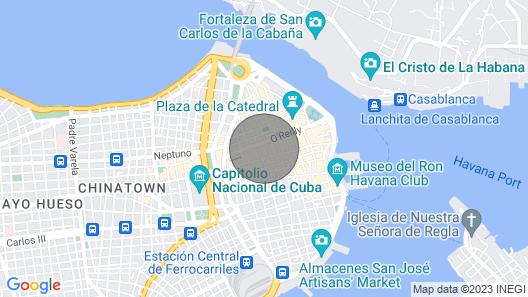 Casa de Lili - Old Havana Vacation Rentals Map