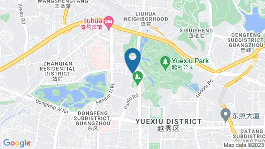 China Hotel Map