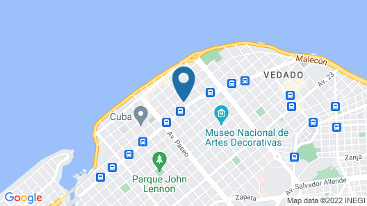 B&B Tu Habana Map