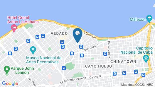 Hotel Vedado Map
