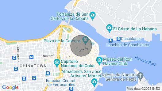 Casa de Guillermina y Roberto Map
