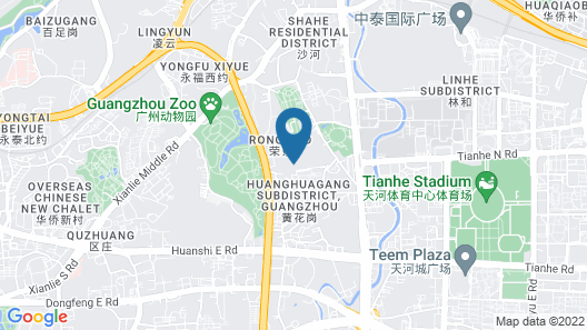 Sofitel Guangzhou Sunrich Map