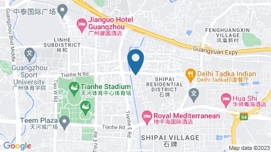 Guangzhou Grand International Hotel Map