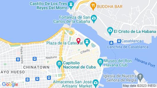 Hostal Peregrino El Encinar Map