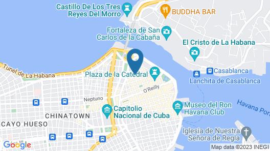 Art Boutique Havana Map
