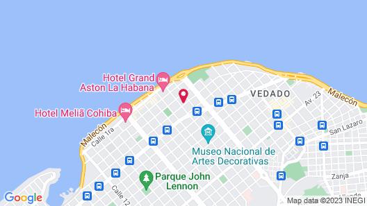 ELEGANCIA SUITES HABANA Map