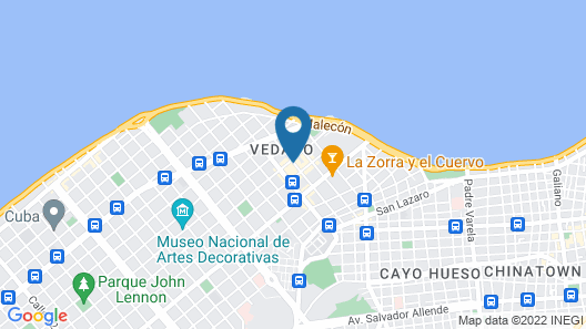 NH Collection Hotel Victoria La Habana Map