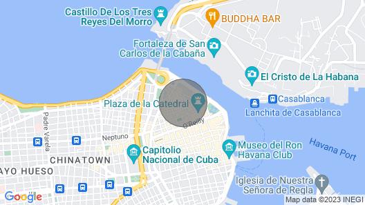 Penthouse Vista del Cristo Map
