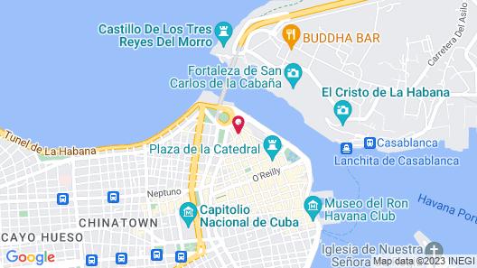 Art Studio Habana Vieja 55 Map