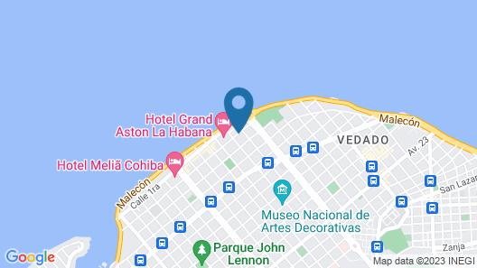 Hostal Calis Habana Map