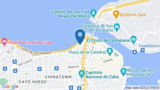 San Lazaro 115 Map