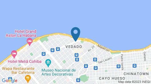 3 Bedroom Condo Ocean View WiFi Map