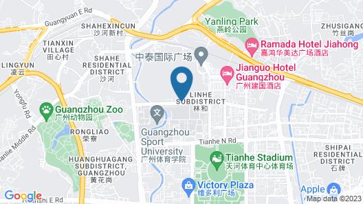 The Westin Guangzhou Map