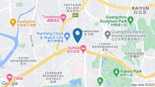 Baiyun City Hotel Map