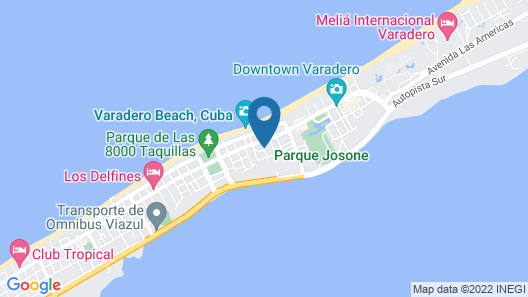Vida Cubana Boutique Hotel Map