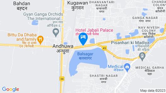 Jabali Palace Map