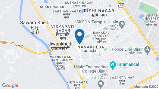 Harshdeep Smart Stays Map