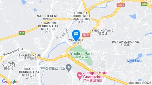 Guangzhou Gorgeous Hotel Map
