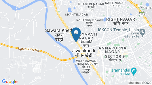 Hotel Mittal Avenue & Paradise Map