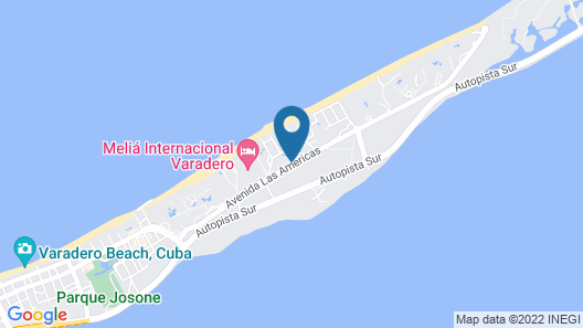 Be Live Experience Varadero - All Inclusive Map