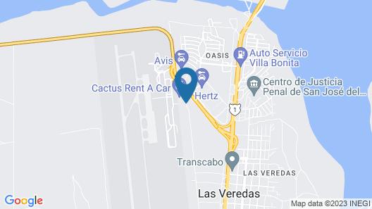 Hotel Aeropuerto Los Cabos Map