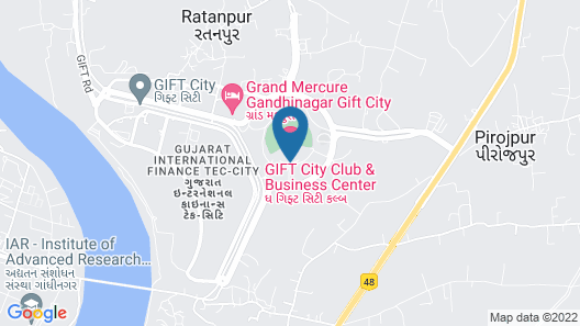 Gift City Club & Business Center Map