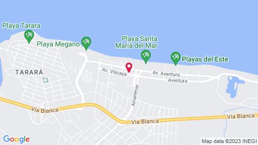 MarAzul Hotel - All Inclusive Map