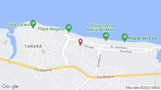 Villa Los Pinos Map