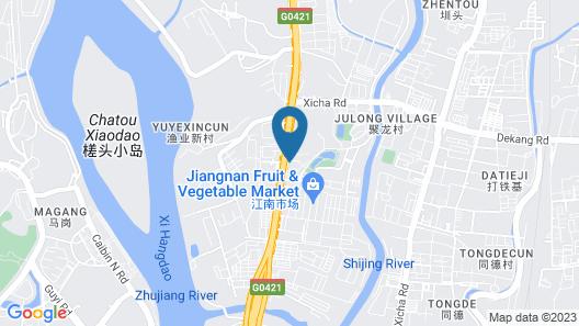 Guangzhou Manguo International Hotel Map