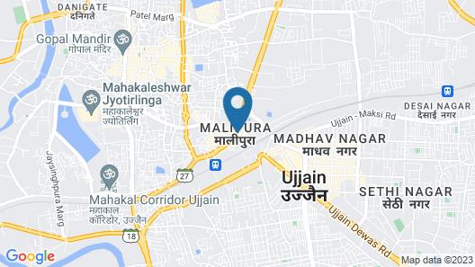 Hotel Shreeram Map