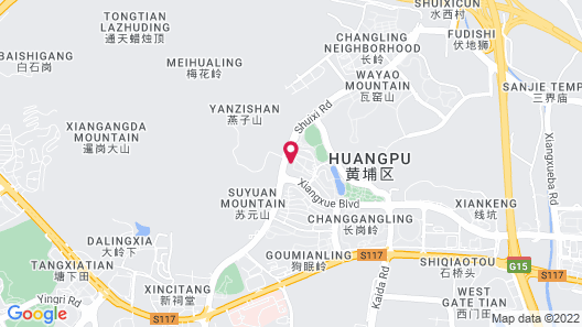 DoubleTree by Hilton Hotel Guangzhou - Science City Map