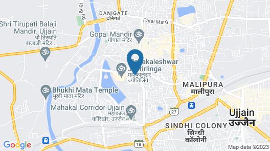 Hotel Nandi Ujjain Map