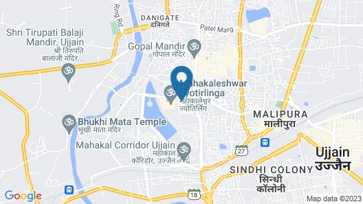 Hotel Satyam Map