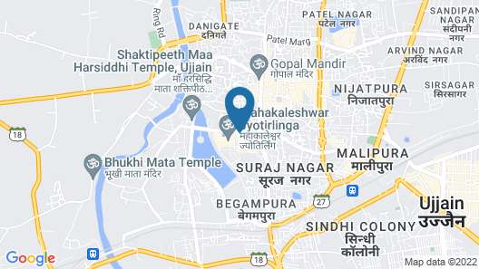 Anroute Stays - Near Mahakal Temple Map