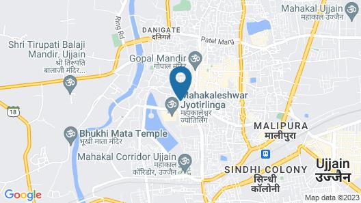 Hotel Shipra Avenue Map
