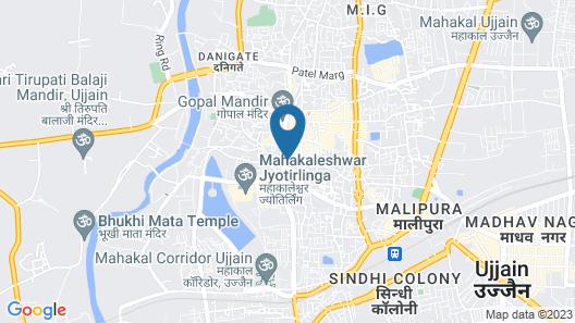 Hotel Satyug Map