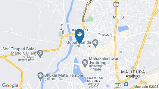 OYO 29831 Hotel Harihar Map