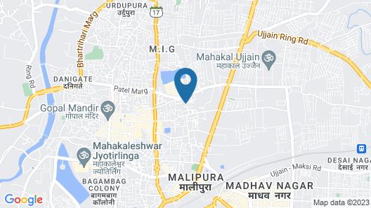 Hotel Abika Elite Map