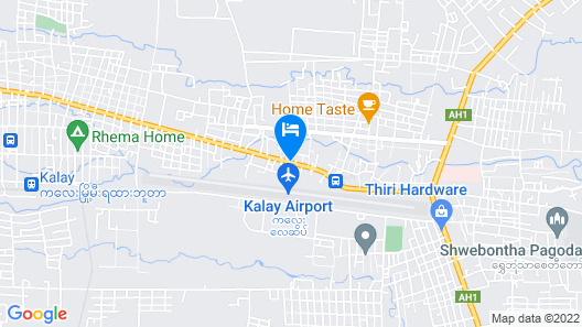 Hotel Moe Map