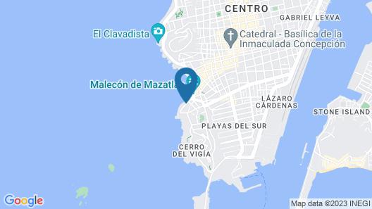 Casa Lucila Hotel Boutique Map