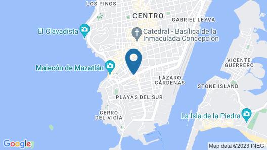 Hotel Dwana Map