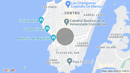 Beautiful Condo in the Heart of Mazatlán!!! Map