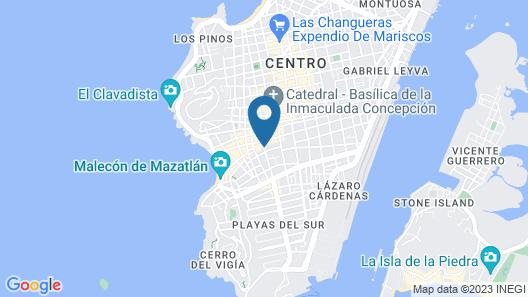 The Jonathon Boutique Hotel Map