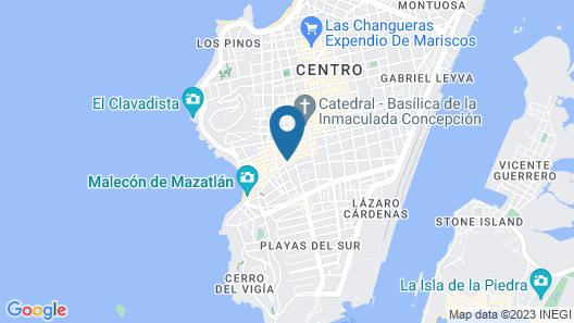 Hotel Raíces de Mar Map