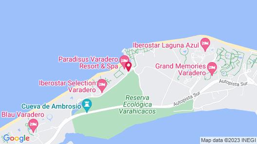 Iberostar Selection Varadero – All Inclusive Map